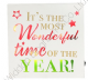 It's the most wonderful time of the year  Light Up Wall Plaque XM3223